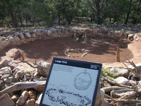 Dream Travel Bucket List and the Grand Canyon: Tusayan Ruins South Rim Grand Canyon