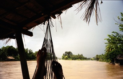 View from my hammock - time for reflection - solo female travel