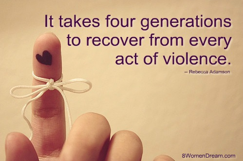 A Dream to See the End to Violence Against Women - Violence Against Women Quote 8WD