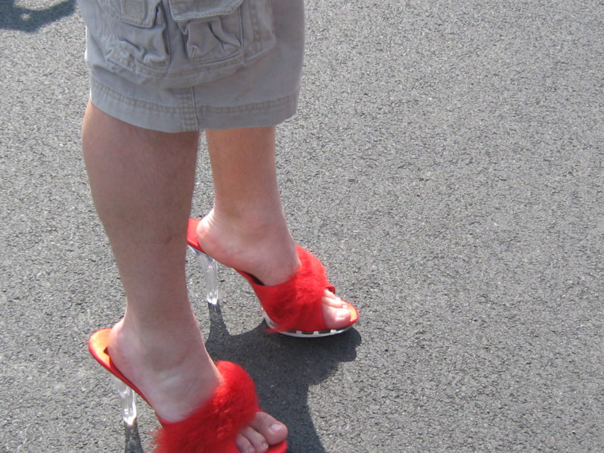 Walk A Mile in Her Shoes to Make A Difference For Assault Victims