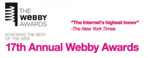 Webby awards the best of the web