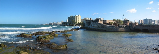 World travel dreams: Condado Puerto Rico Panoramic View