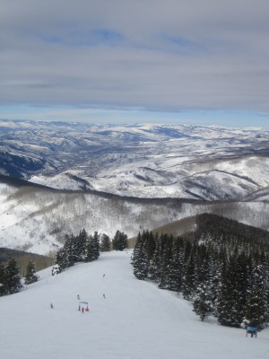 adventure skiing in Vail