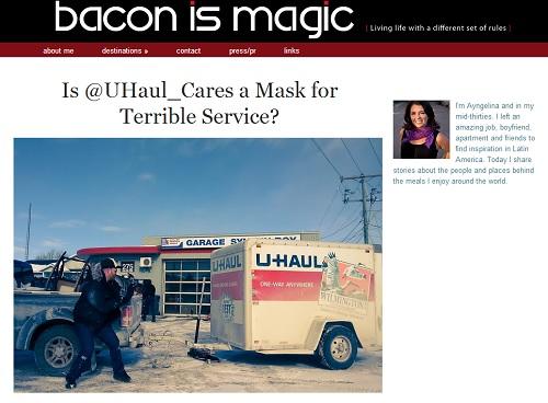 American Blogger Film Ignites Blogging Shitstorm: Bacon is Magic blog