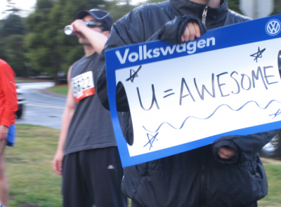 Bay to breakers u=anwsome sign