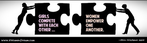 Back A Woman's Dream in Honor of Women at Kiva: Women empowering women quote