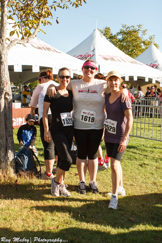 Before getting muddy at Dirty Girl 2012