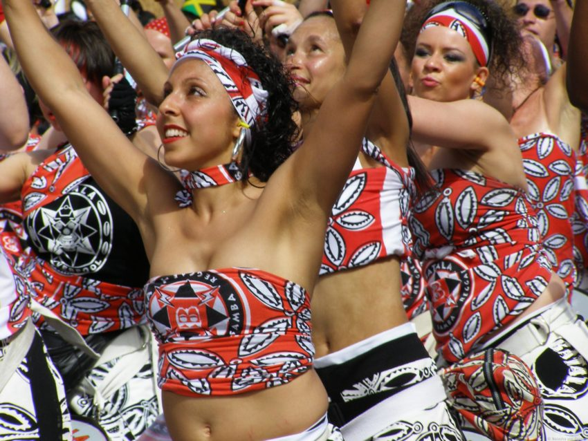8 Best Travel Photos from the World Wandering Kiwi: Performers at Notting Hill Carnival