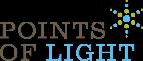 Celebrating Women of Worth: Points of Light logo