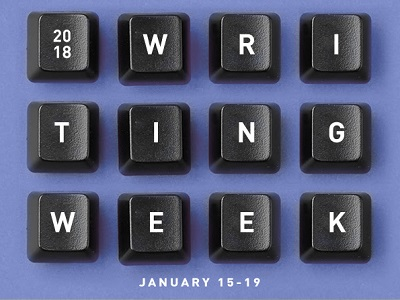 CreativeLive Writing Week Class Jan 2018