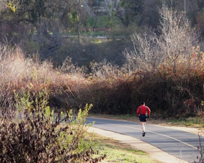 Wordless Wednesday Images of Winter in Northern California: Winter Running Road photo by Remy Gervais