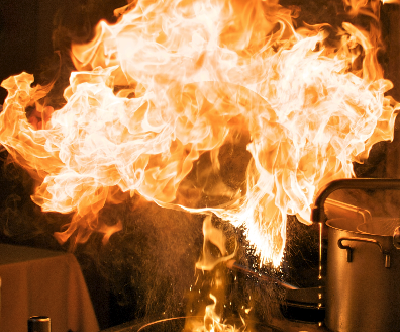Warning: Moving from Fear to Fire is to Be a Celebrity Chef
