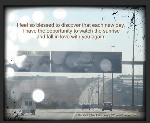 Thankful Thursday: Dream Lessons - Driving into Pretoria, Image by Kameraad Pjotr