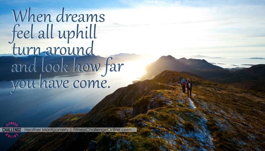 The Secret to Offseason Triathlete Training - Uphill training quote