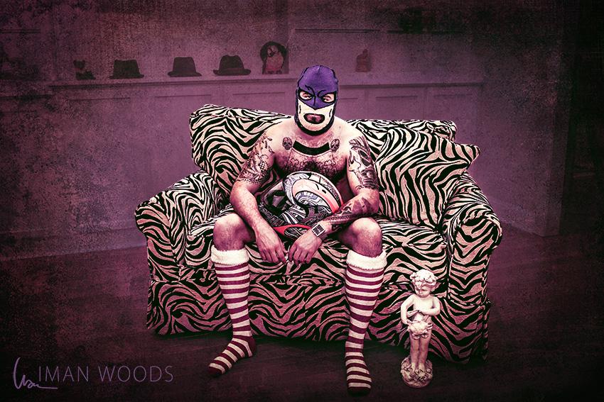 Dudoir - Dude Boudoir by Iman Woods