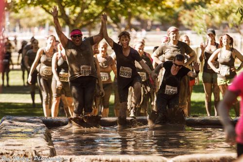 Final Mud Pit at Dirty Girl 2012
