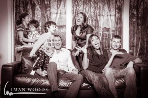 My crazy family makes me happy.