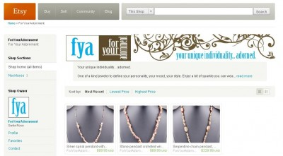 enjoying a Dream Success with for your adornment on etsy