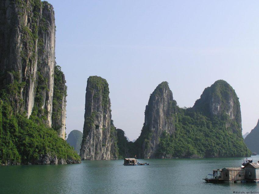 8 Top Travel Gratitude Retreats: Ha Long Bay in Vietnam by Natasha von Geldern