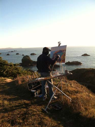 Developing dreams at my happy place on the Pacific Coast
