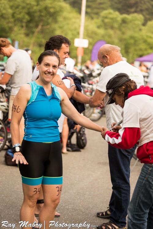 Heather Vineman Olympic Distance Triathlon Race Markig