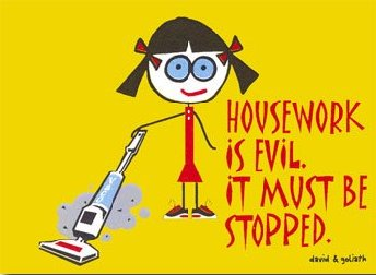 Housework is evil