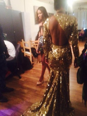 Finding Happiness In New York Fashion Week - The Beyonce dress