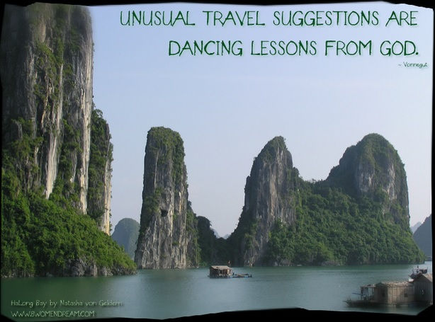8 Most Inspiring Quotes About Travel - Kurt Vonnegut quote about travel destinations