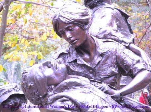 8 Women Memorials to Visit on International Women's Day: Women's Vietnam Memorial