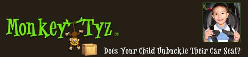 Bringing Monkey Tyz To Market: Monkey Tyz - Keeping Children Buckled In Their Car Seats!