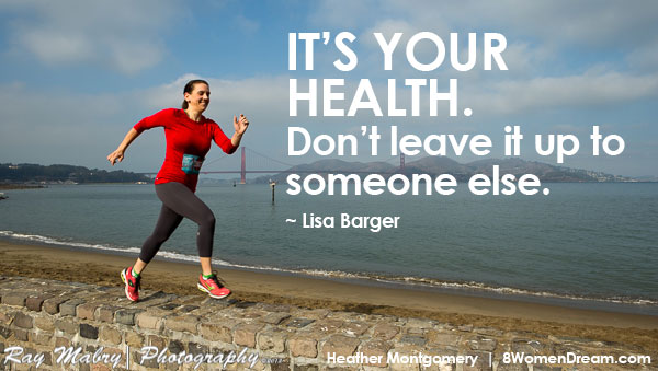 Motivational fitness photo quotes - It's your health