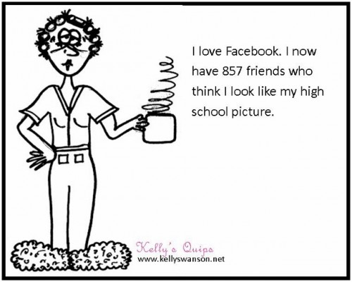 Funny Motivational Speakers Find Humor In Everyday Life - Funny Motivational Speaker Kelly Swanson cartoon