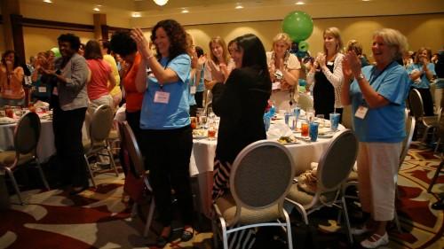 motivational speakers love standing ovations