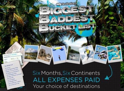 My Destinations Bucket List Dream Travel Blogger Contest