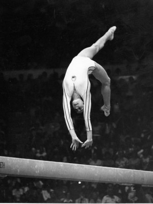 Famous Olympic Images: Nadia Comaneci photo by AP