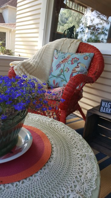 Living the Dream: Front Porch Makeover on a Budget