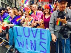 pride LOVE WINS