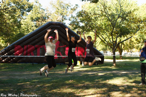 We are ready! Dirty Girl 2012 a great fitness challenge