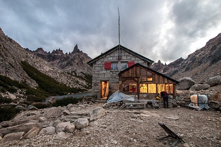 Refugio Frey Cerro Catedral Argentina Mountain