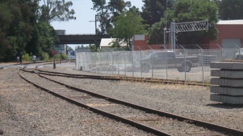 30 Years to Achieve a Dream: Santa Rosa train tracks for SMART Train