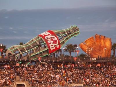 San Francisco Giants: AT&T Park Coke Bottle