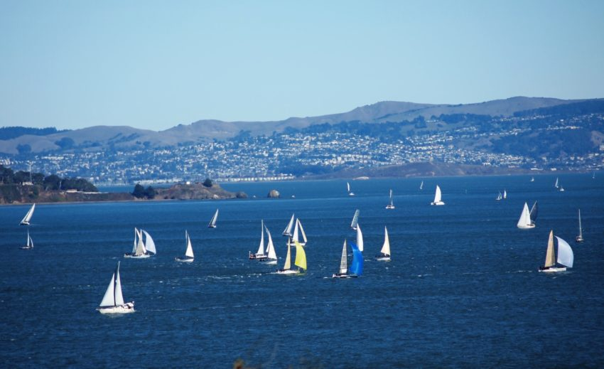 Wordless Wednesday: Sailboats on the SFBay San Francisco Adventures