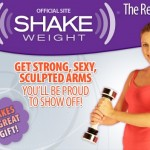 Top 8 Worst Products Marketed To Women: Shake weight