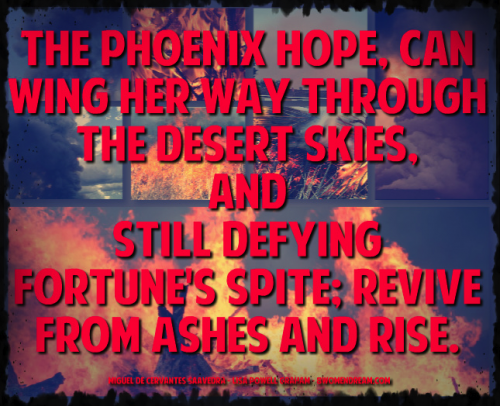 Recommitting to a Lifelong Dream: Rising from the ashes quote