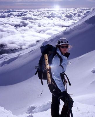 Natasha von Geldern - mountaineer!