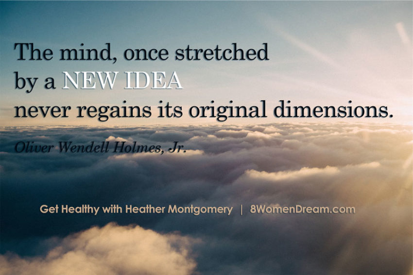 The mind once stretched - image quote - find your functional range of motion