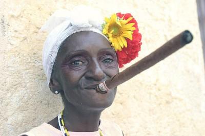 Top Travel Photos: Dona Paulina of Havana, Cuba and her cigar, By Antonio Milena