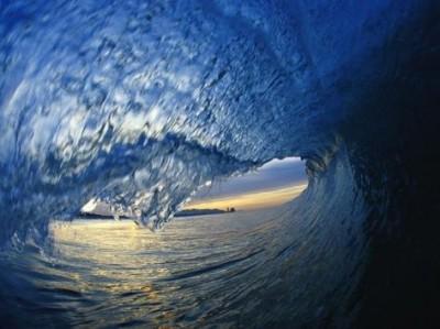 Top travel photos: Inside Breaking Ocean Wave by David Pu'u - Buy at Art.com