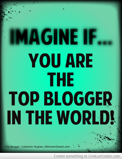Create a Top Blog Website: Top Blogger Image
