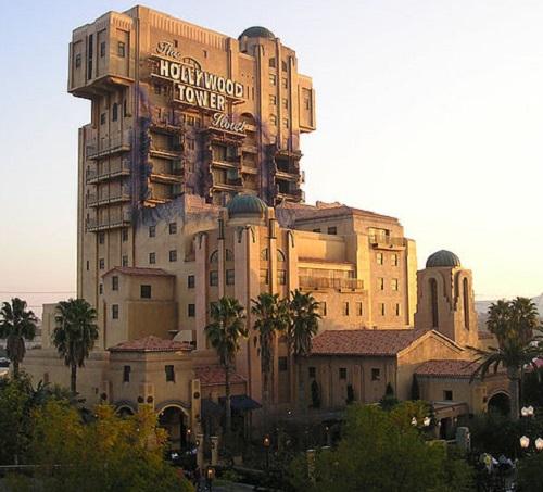 Does Your Bucket List Travel Destinations Include a Disney Halloween? Disneyland Tower of Terror Image by Ellen Levy Finch